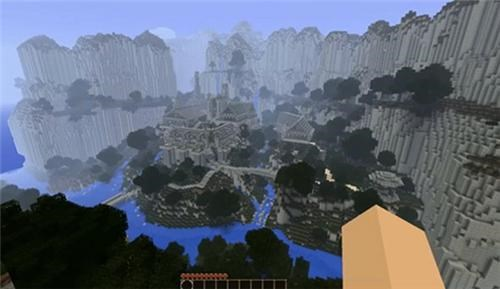 Minecraft Middle Earth of the Day