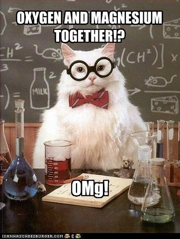 Chemistry Cat: Together at Last