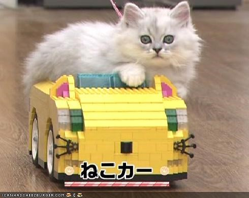 Awesome Kitteh Toys Made From Legos