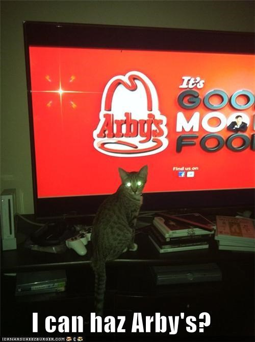I can haz Arby's?