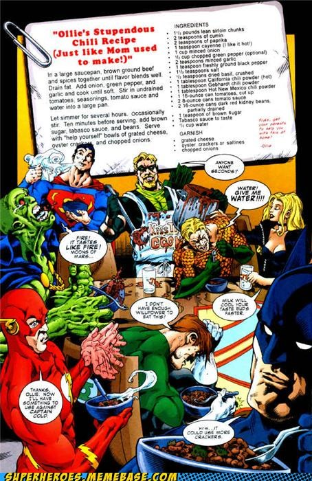 Green Arrow Is Quite the Chef