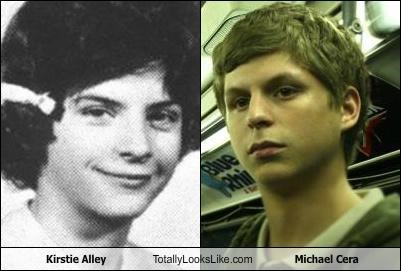 Kirstie Alley Totally Looks Like Michael Cera