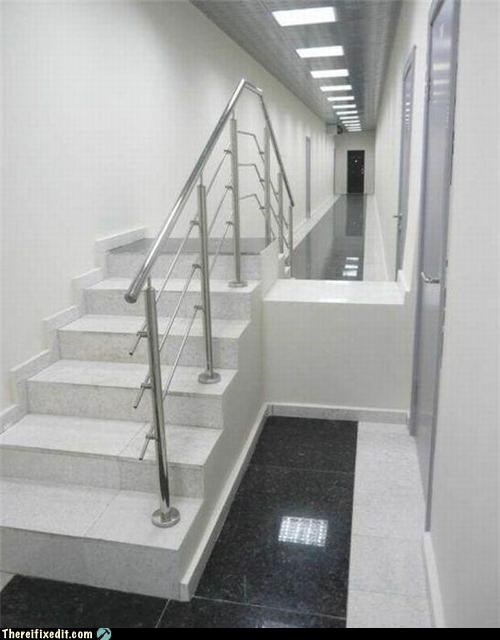 Professional At Work,stairs,unnecessary,wtf