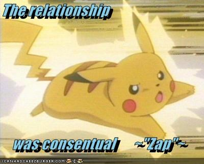 "The relationship   was consentual      ~""Zap""~"