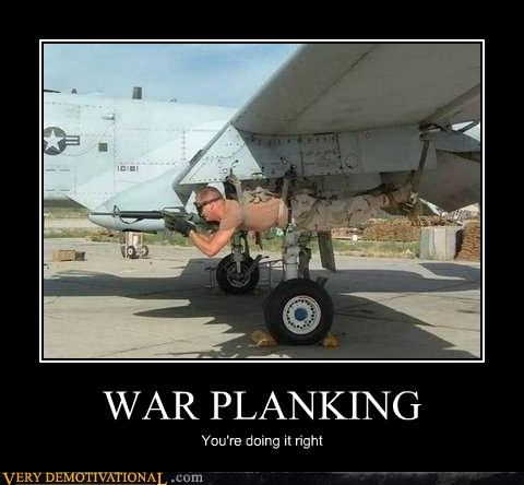 air force,hilarious,Planking,right,war,wtf