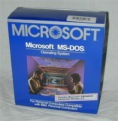MS-DOS Anniversary of the Day