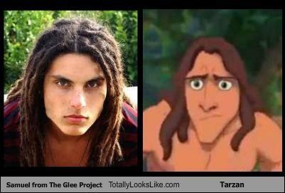 Samuel from The Glee Project Totally Looks Like Tarzan