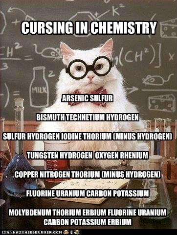 Chemistry Cat's Guide to Fluorine-ing Your Teachers Over