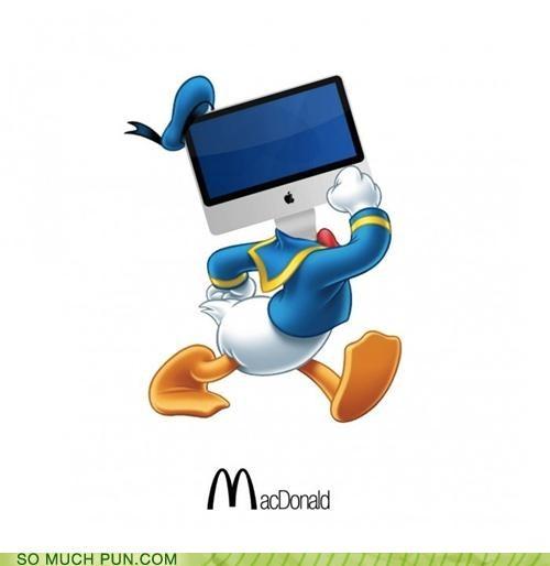 donald,donald duck,juxtaposition,literalism,mac,McDonald's,triple meaning