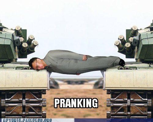 engrish,Kim Jong-Il,North Korea,Planking
