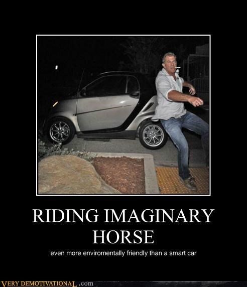 RIDING IMAGINARY  HORSE