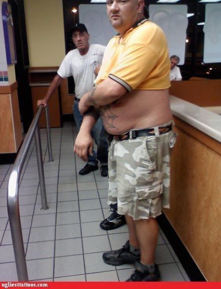 belly tats