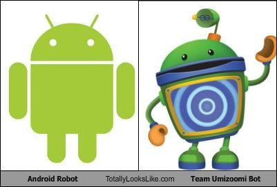 Android Robot Totally Looks Like Team Umizoomi Bot
