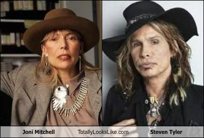 Joni Mitchell Totally Looks Like Steven Tyler