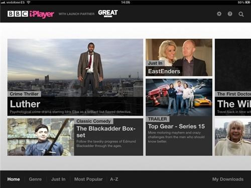 BBC iPlayer iPad App of the Day