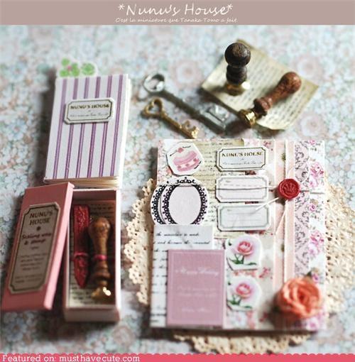 best of the week,letters,miniature,nunus-house,pen pals,writing