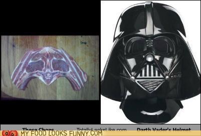 chops,darth vader,star wars,totally looks like