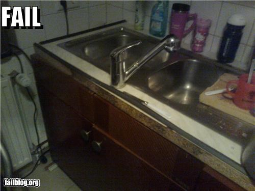 Kitchen Installation FAIL