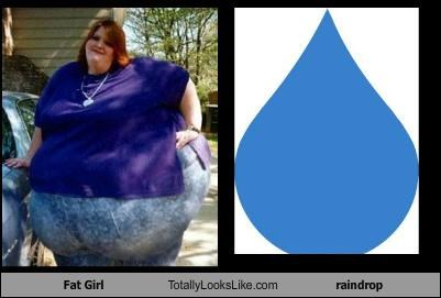 This Woman Totally Looks Like A Raindrop