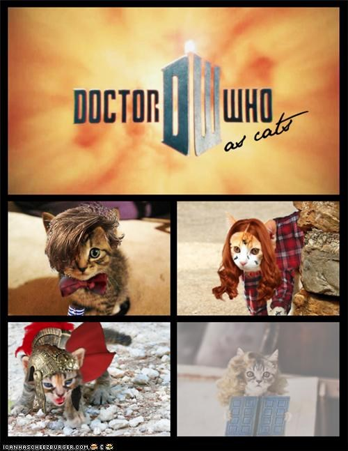"""Doctor Who"": Now Starring 100% MOAR KITTEHS!"