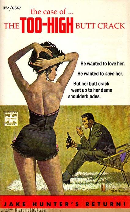 Dime Store Detective Novel Titles Reimagined
