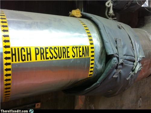 High Pressure Steam, Low Cost Fix