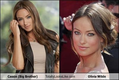 Cassie (Big Brother) Totally Looks Like Olivia Wilde