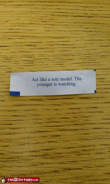 Fortune Cookie Friday: The Elder Is Also Watching