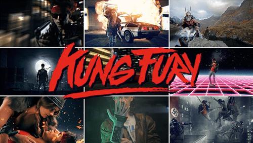 kickstarter,kung fury,kung fu,triceracop,1980s