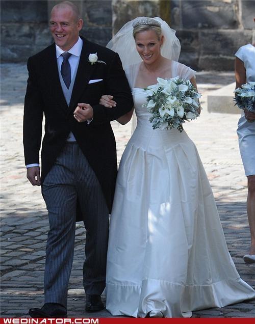 funny wedding photos,kate middleton,royal wedding,zara phillips
