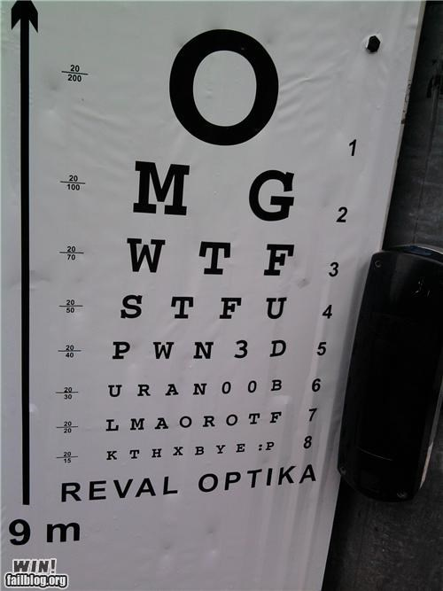 Internet IRL: Optometry Office