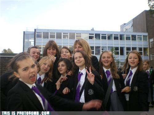 derp,Kids are Creepers Too,school girl,that fae,uniform