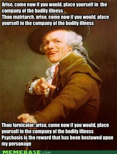 Down with Joseph Ducreux