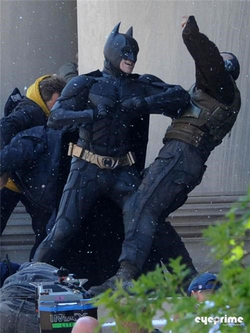 Dark Knight Rises Set Pics of the Day