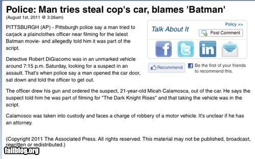 batman,excuse,failboat,g rated,movies,Probably bad News,stupid criminals