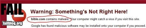 Malicious Website FAIL