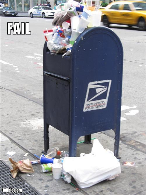 Garbage Can FAIL