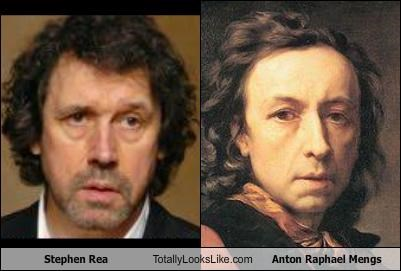 Stephen Rea Totally Looks Like Anton Raphael Mengs