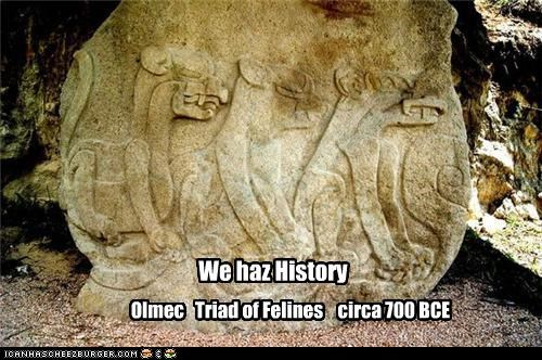 No cheezburgers for 2700 years!