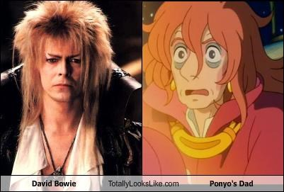 David Bowie Totally Looks Like Ponyo's Dad
