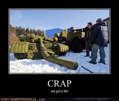 blow up,flat,hilarious,tank