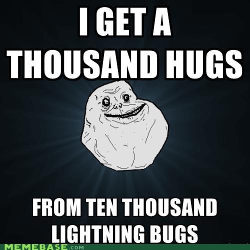 Firefly,forever alone,lightning bugs,owl city