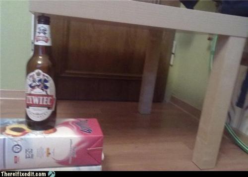 Polish Beer + Ikea = Fixed