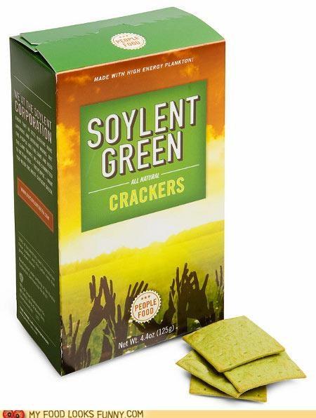 crackers,green,people,snack,Soylent Green