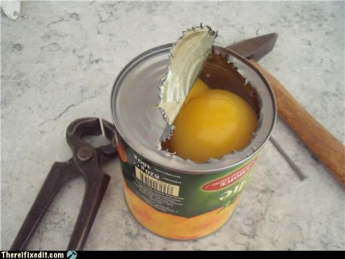 can opener,dual use,food,tools