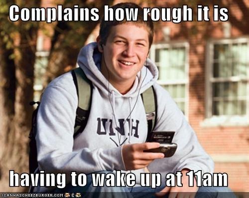 11am,nap,school,sleep,uber frosh,waking