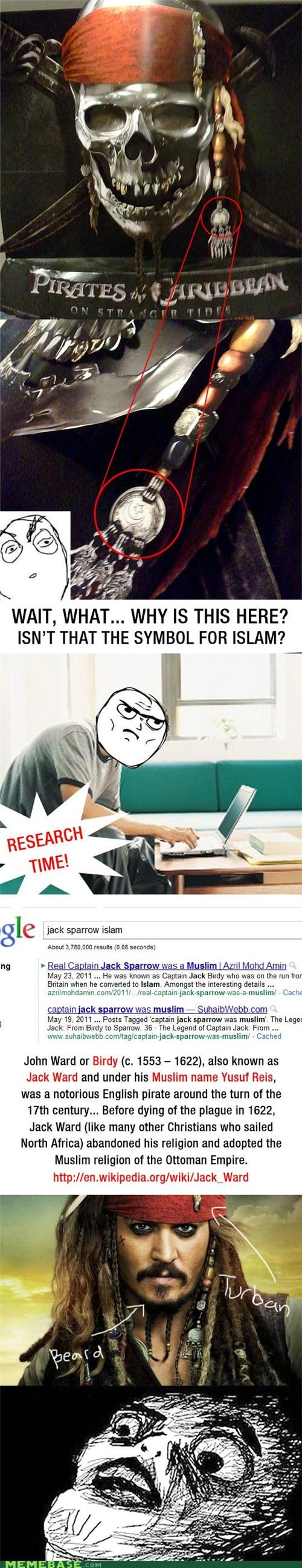 best of week,islam,jack,movies,Pirates of the Caribbean,Rage Comics,research,sparrow