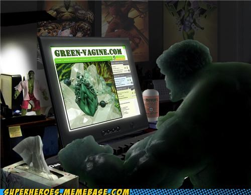 So That's What the Hulk Digs?!