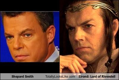 FOX News' Shepard Smith Totally Looks Like Elrond: Lord of Rivendell (Hugo Weaving)