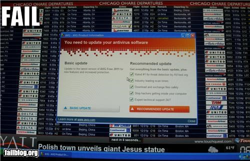 airport,blue screen,failboat,g rated,microsoft,signs,technology